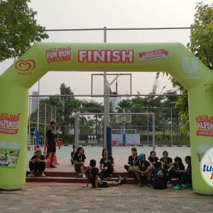 Balon Gate Star Finish